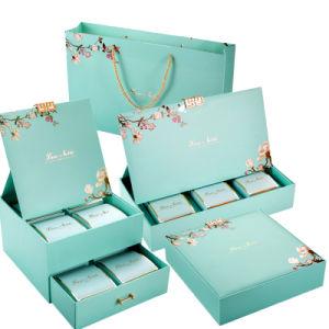 항저우 Fuhan는 마분지 선물 서류상 포장 상자를 주문 설계한다