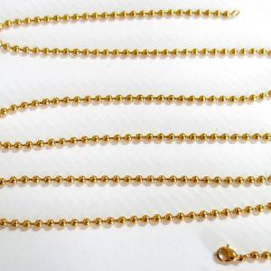 Joyas de acero inoxidable de la cadena de Balón de Oro personalizado