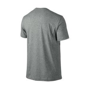Roupas de sublimação personalizado Sport Tshirt vestuário T-shirt de algodão grosso homens T Shirt Silkscreen