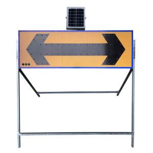 Segnale stradale d'avvertimento della scheda della freccia della guida del segno LED di sicurezza stradale