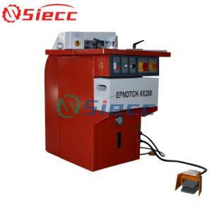 L'encoche angulaire hydraulique Machine de coupe