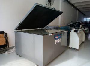 Exposición de rayos ultravioleta de vacío de la máquina para serigrafía