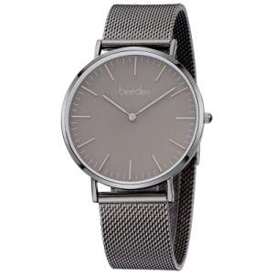 Horloge van het Kwarts van het Horloge van de Beweging van Japan van het Horloge van het Embleem van de Douane van het Horloge van het Horloge van mensen het Slanke Toevallige