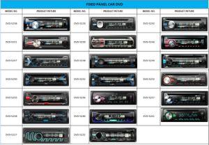 Audio lettore DVD dell'automobile di Bluetooth dell'automobile con multi colore del LED