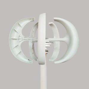 Generador impulsado por viento de eje vertical de 100W