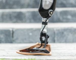 Calzino prostetico del piede della fibra del carbonio di UHMWPE
