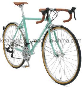 700c 14 Vitesse du pignon fixe de l'acier Cr-Mo /Utilitaire de vélo de route pour les adultes de vélo Vélo et étudiant/cyclo-cross moto/vélo de course de vélo/mode de vie