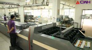 Cadena de producción de la parte posterior del pegamento de Newbook y maquinaria de impresión automáticas
