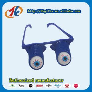 Promoción Squeeze broma de Gafas de plástico de juguete Juguetes