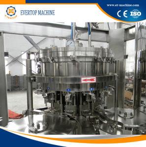 Remplissage de bouteilles PET Autonatic cycle machine monobloc