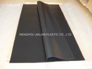 Het stijve Blad van de Steen van pvc Zwarte voor de Verpakking van de Blaar