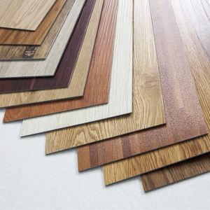 3mm/4mm/5mm/6mm/7mm de espessura de grãos de madeira Clique em piso de vinil