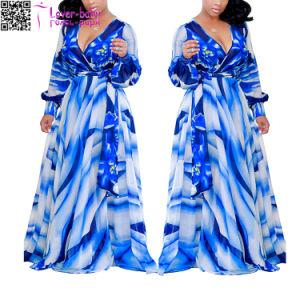 La moda verano Nuevo Azul de la mujer Ramona Wrap Dress L51407