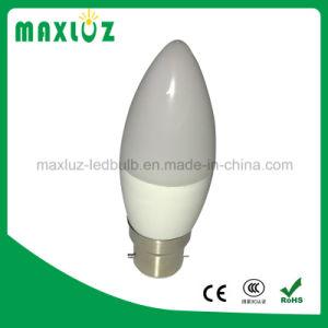 Lâmpada LED de luz C37 6W Lâmpada de iluminação LED