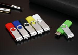 Оптовая торговля рекламных подарков металлический флэш-накопитель USB с логотипом печать