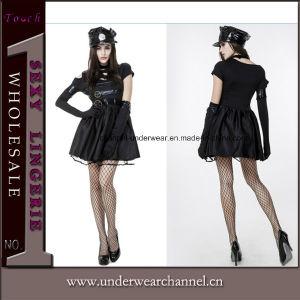 Les femmes Agent de police de l'halloween Carnaval Festival Parti de la Cop Costume (TLQZ14249)