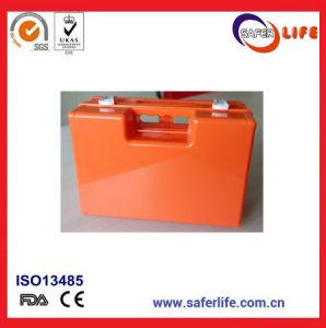 Montagem em Parede do escritório da caixa de primeiros socorros ABS plástico forte caso médico para Kit de Primeiros Socorros
