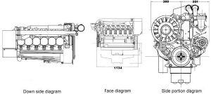 Deutz BF6L913C 디젤 엔진