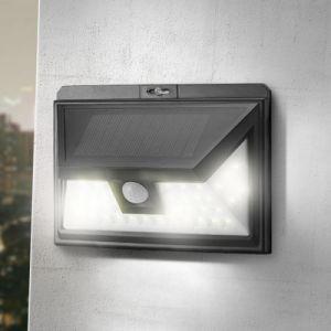 44 des LED-Solarlicht-PIR angeschaltenes im Freien LED Garten-Solarlicht Bewegungs-des Fühler-mit 5 LED auf beiden Seiten imprägniern
