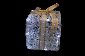 Giftbox Crystal Lamp mit LED
