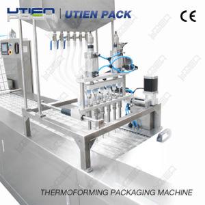 La nourriture de thermoformage sous vide automatique de la viande Package/Pack/emballage/la machine de conditionnement