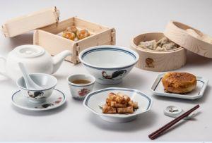 100%mélamine plaque Tableware-Dessert /plaque carrée (4105)