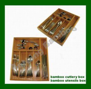 Cubiertos de bambú Bandeja (HX-6983)