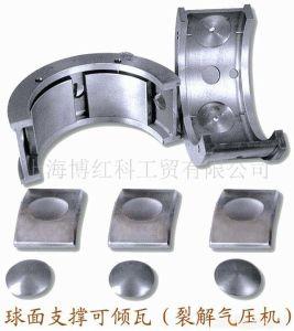 La presión dinámica Tilting-Pad cojinete de deslizamiento radial
