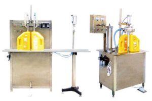 半自動液体オイルの充填機(BSDG-2)