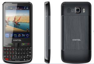 Ecrã táctil de 2,8 telemóvel fino com teclado QWERTY com TV, WiFi, GPS, Duplo SIM (K25)