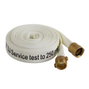 FM/UL Lienzo Layflat estándar del tubo de manguera de incendios con EPDM/forro de TPU