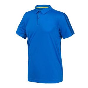 100%년 폴리에스테 건조한 적합 남자의 폴로 t-셔츠