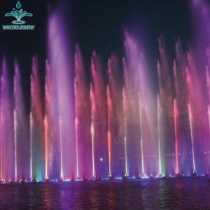 Paisagem do mar música de dança de Alta Pressão ornamentais fonte de água