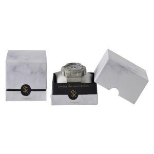 La impresión de mármol de lujo el embalaje personalizado regalo Caja de cartón ver