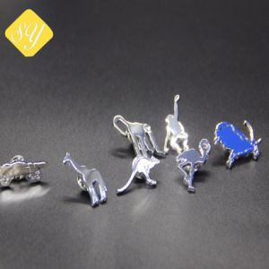 卸し売り工場価格のカスタムエナメルの金属3Dのバッジ