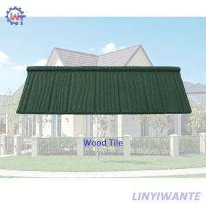 Pierre Bois enduits étanches tuile de toit de métal pour matériaux de construction