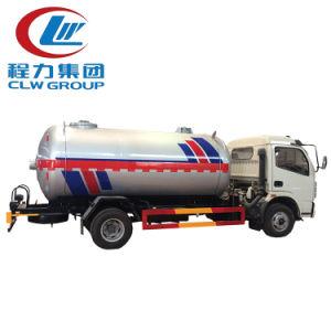 Bijtankende Vrachtwagen van het Gas van LPG Dongfeng van Asme de Standaard4X2 Mini
