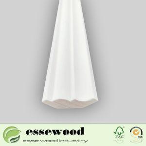 Amorcée en bois massif/MDF Corniche au plafond de moulage de moulures en couronne