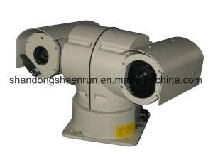 Camera van de Visie van de Nacht van de Laser van het Gebruik HD IP PTZ van het voertuig de Infrarode
