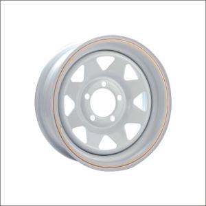 Tous classent la roue en acier de remorque de pouce 13-17 avec la conformité de POINT