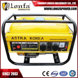 1,5 KW 5.5HP gasolina Generador Portátil con CE