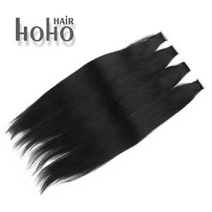 De dubbele Getrokken Straal Zwarte Band van 18 Duim in de Uitbreiding van het Menselijke Haar