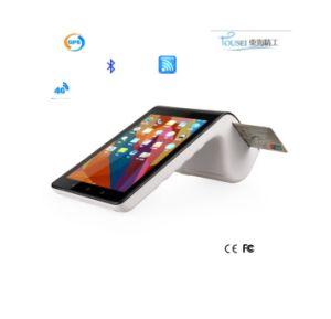 Androide Handnote Mini-Positions-Zahlungs-Terminal EMV mit Bluetooth Empfangs-Drucker und Klein-Positions-System PT7003