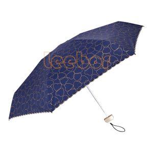 De Zon van het hart/Gift van Vijf Vouwen van de Regen de Zwarte Met een laag bedekte/de Mini/Anti UVParaplu van de Zak