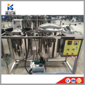 小規模のやし堅果油の精錬の機械装置のやしカーネルの石油精製所機械