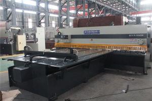 Máquina de corte guilhotina CNC, giro hidráulico