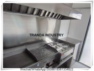 Camion completamente personalizzato degli alimenti a rapida preparazione da vendere/il camion alimento della via