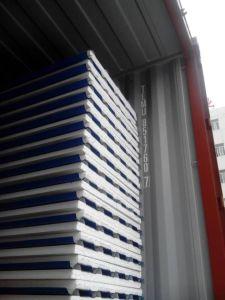 Sandwich à isolation EPS de tôle en acier Les panneaux de toit pour préfabriqué chambre