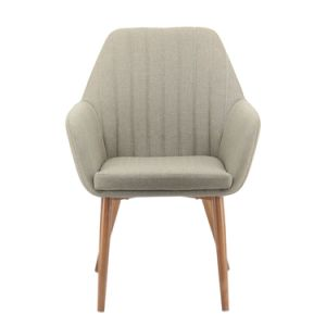 ファブリック新式の簡単な金属の足の訪問者の椅子