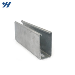 La béquille de verrouillage de trame en acier à fentes en métal du canal de type C